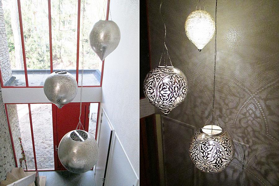 Arabische lampen hal verlichting vide