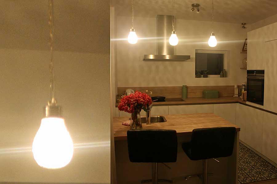 Keukenverlichting - hanglampen Halima