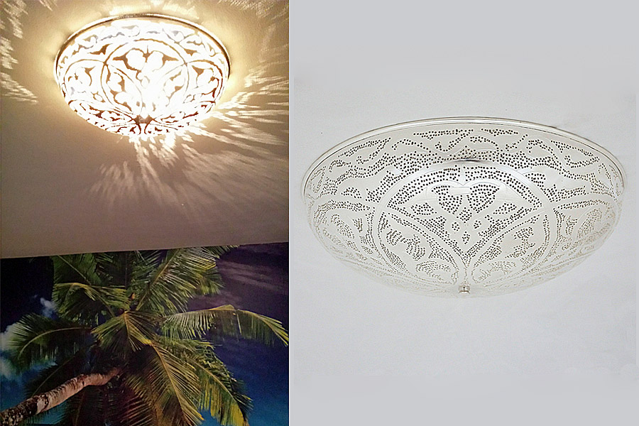 oosterse plafondlamp nour lifestyle