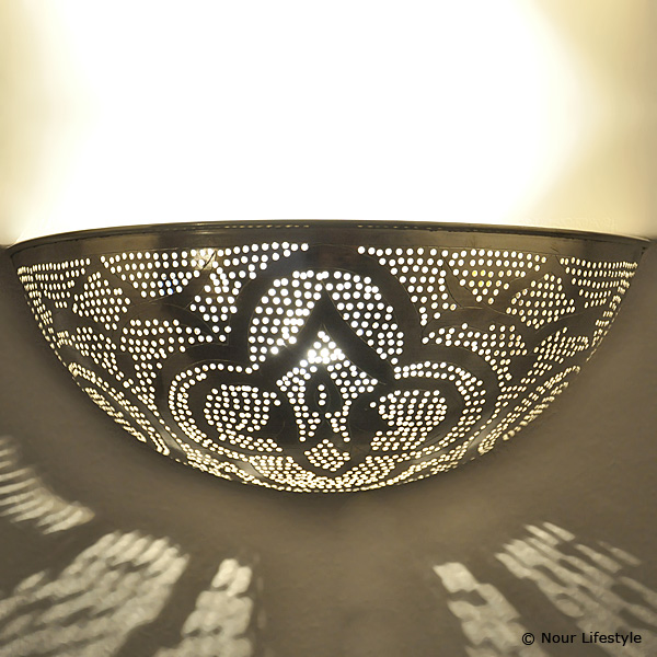 Arabische wandlamp Helal A