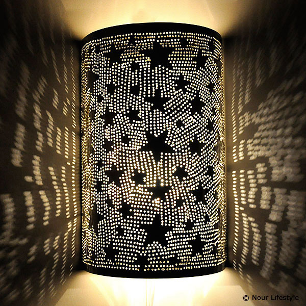 Arabische wandlamp Kawakeb