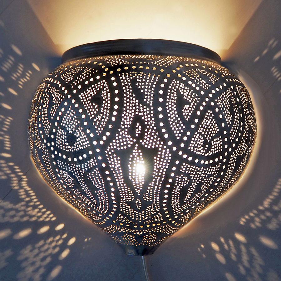 Arabische wandlamp Mieja Q