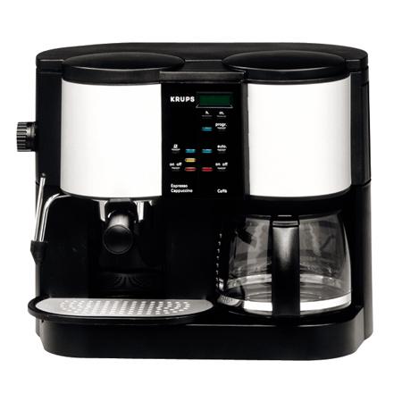 krups espresso duo koffiezetter f888. Black Bedroom Furniture Sets. Home Design Ideas