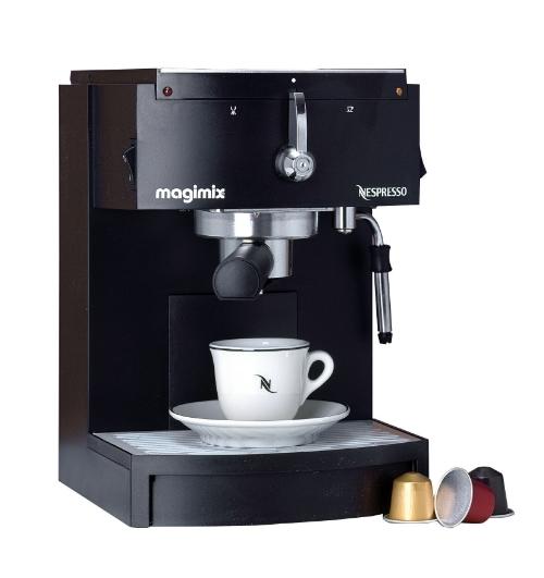magimix nespressomachine m150. Black Bedroom Furniture Sets. Home Design Ideas