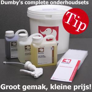 Dumby onderhoudsets: groot gemak - kleine prijs!