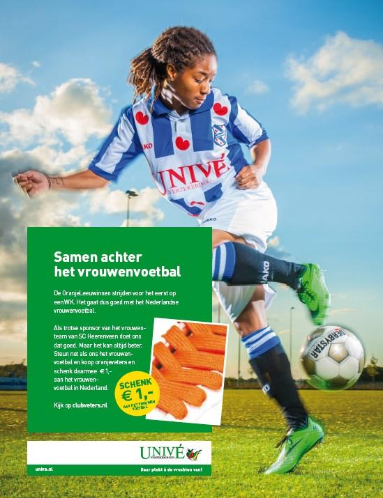 Advertentie_Vrouwenvoetbal_ScHeerenveen