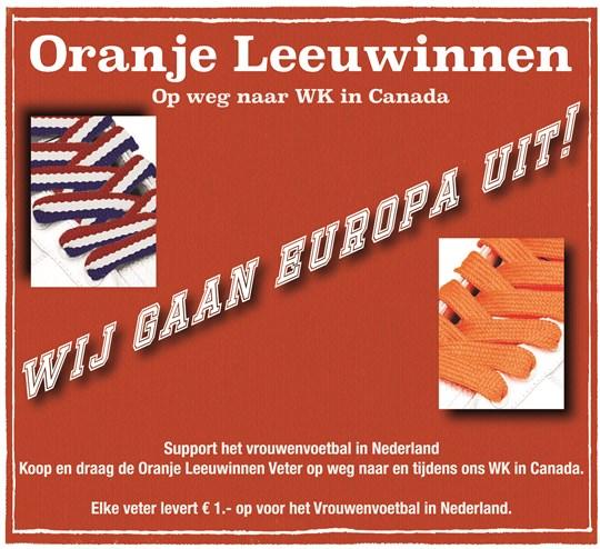 Oranje Leeuwinnen op web naar Canada