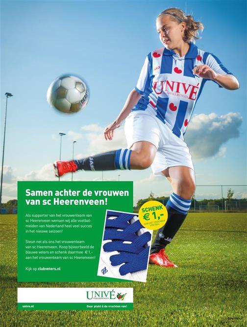 Steun het Vrouwenvoetbal
