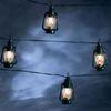 Kerstverlichting LED lichtsnoer groene lantaarns