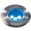 12 volt grondspot astrum rvs led blauw