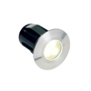 Alpha spot rvs, warmwitte led