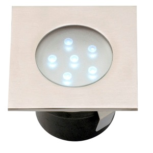 GARDEN LIGHTS BREVA RVS LED GRONDSPOT  , 12 VOLT