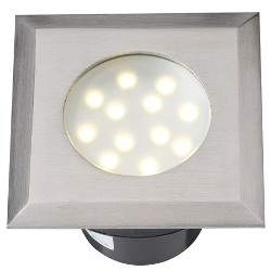 GARDEN LIGHTS ELARA RVS LED GRONDSPOT, 12V