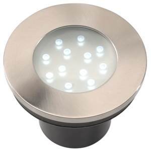 Hibria rvs 12 volt led grondspot  garden lights