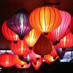 Asia Beleuchtung Restaurant