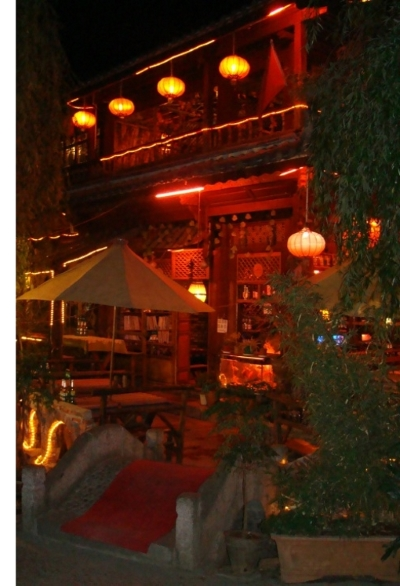 Chinese lantaarn in Lijiang China.jpg