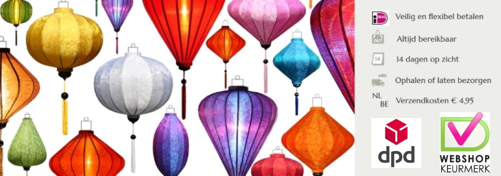 Chinese lampionnen van Lampionsenzo