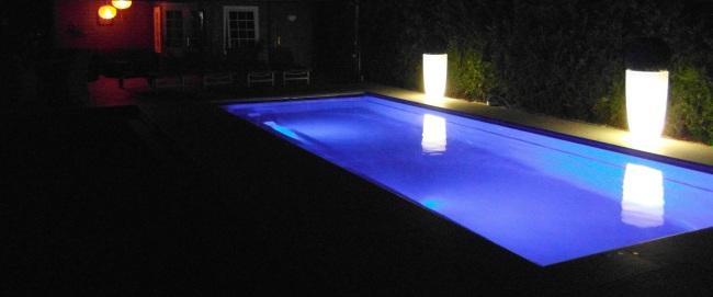 Inspiratie tuin Lampionnen bij het zwembad