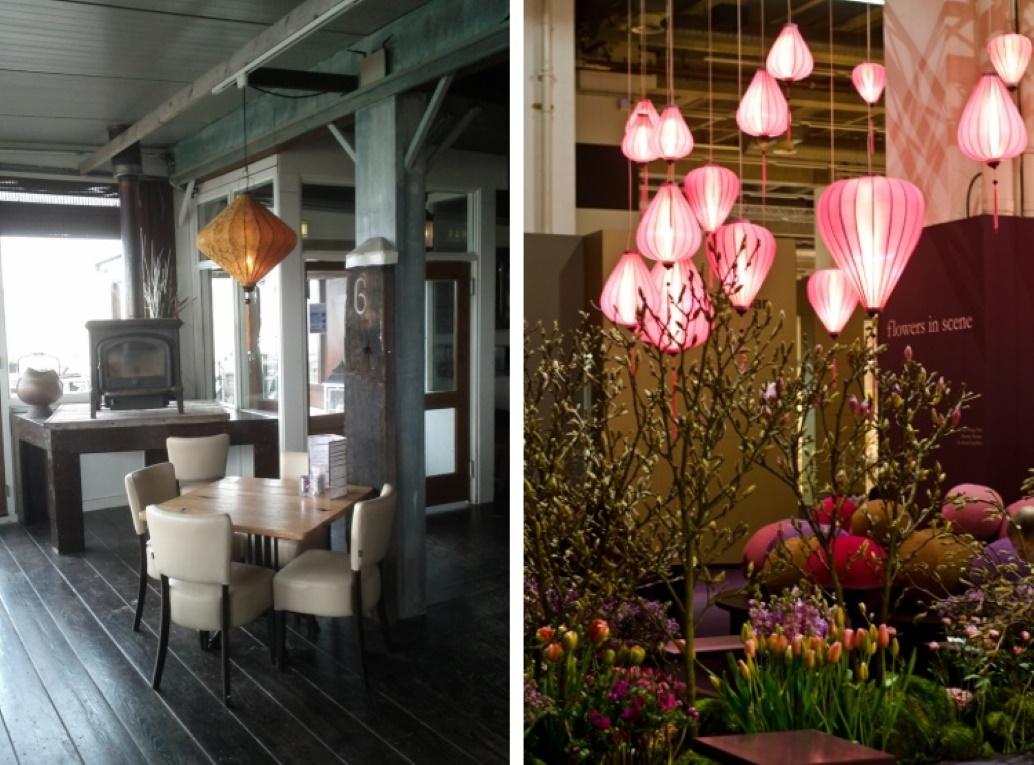 Chinese lampionnen in huis en tuin