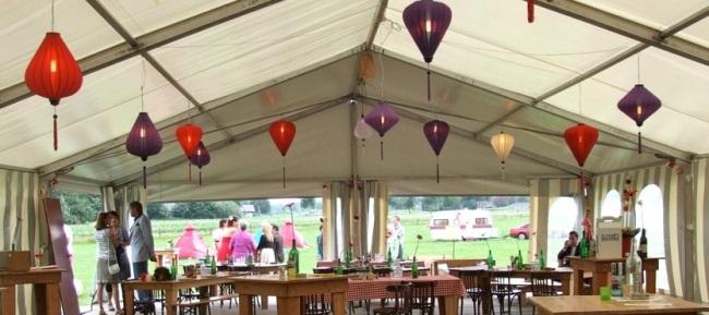 Lampions hochzeit party fest und anderem besondere for Festzelt dekoration