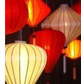 Vietnamese zijden lampionnen