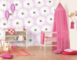 Roze kinderlamp hanglamp Roze kinderkamer
