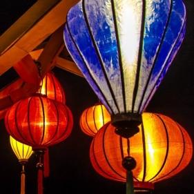 Vietnamesische Seidenlampions