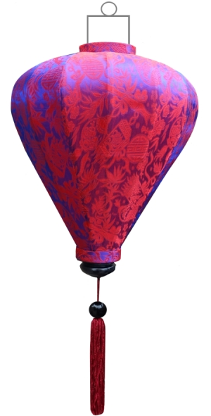 Indigo lampion ballon / B-IN-45-S