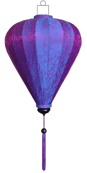 B-PA-72-S Paarse lampion ballon