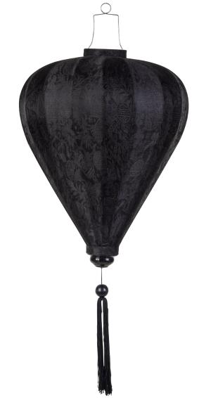 Zwart lampion ballon / B-SW-45-S