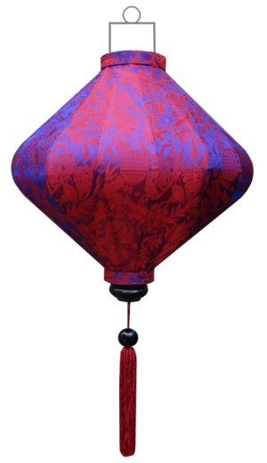 D-IN-62-S Indigo lampion diamant