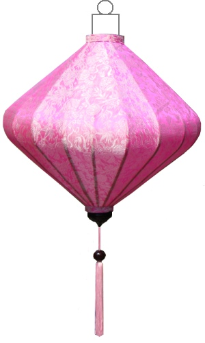 D-PK-45-S Roze lampion diamant