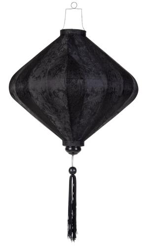 Zwart lampion diamant / D-SW-62-S