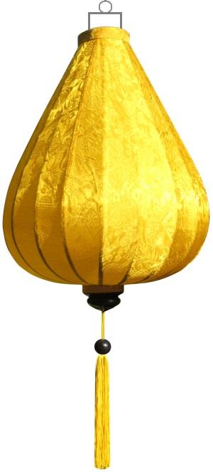 Gele lampion druppel / DR-YE-45-S