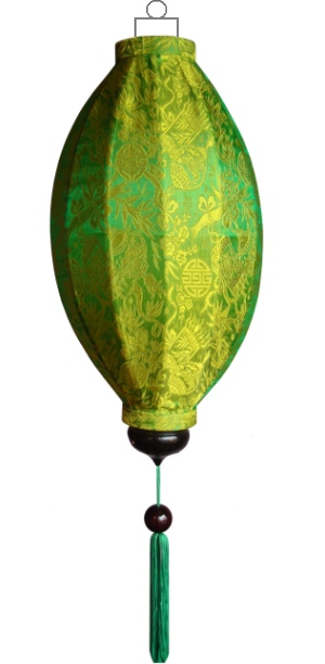 Groene lampion mango / M-GR-45-S