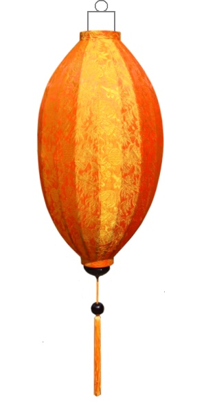 Oranje lampion mango / M-OR-45-S