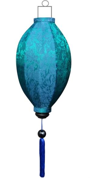M-TU-45-S Turquoise lampion mango