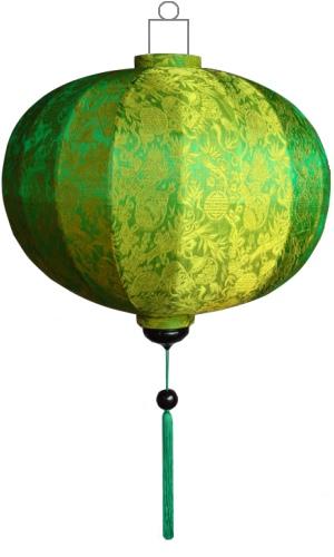 Groene lampion globe / G-GR-45-S