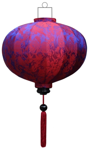 Indigo lampion globe / G-IN-45-S