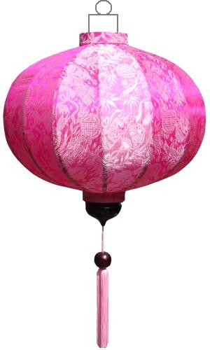 G-PK-72-S Roze lampion globe