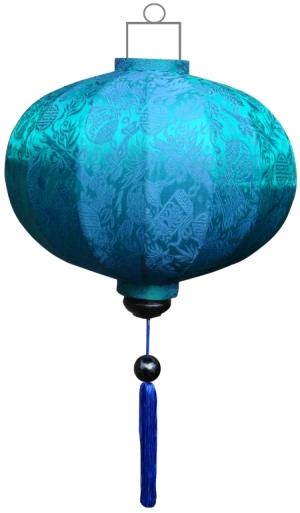 G-TU-62-S Turquoise lampion globe