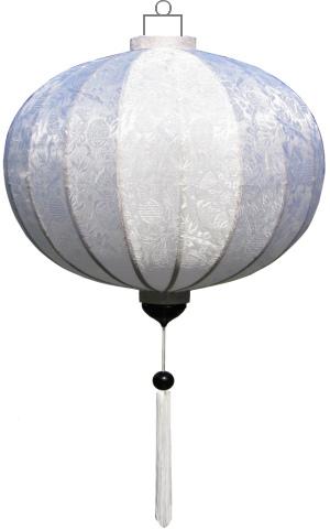 Witte lampion globe / G-WH-45-S
