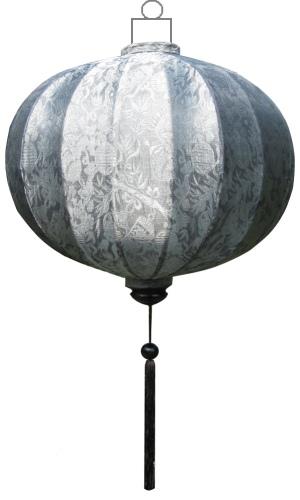 G-SL-62-S Zilveren lampion globe