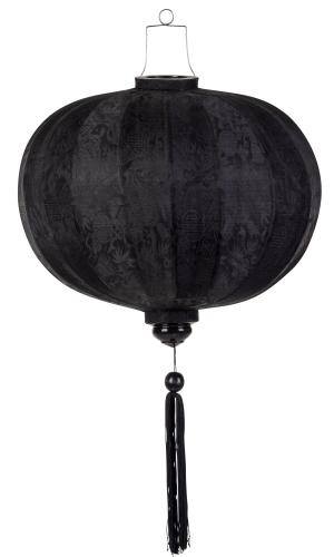 Zwart lampion globe / G-SW-45-S