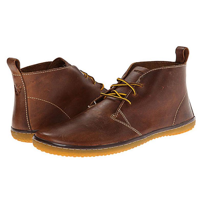 Bruine VIVOBAREFOOT Gobill Tabacco schoenen