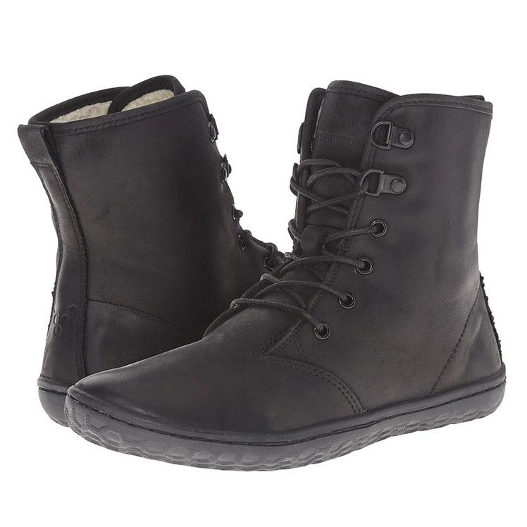 Zwarte VIVOBAREFOOT Gobi Hi laarzen