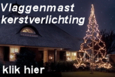 Fairybell vlaggenmast kerstverlichting folder