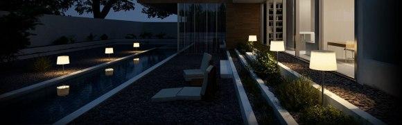 'Gacoli lampen op zonne-energie'