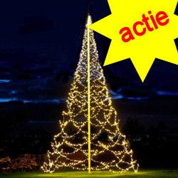DEMOMODEL Fairybell 2000 Led  kerstverlichting warmwit voor 10M vlaggenmast