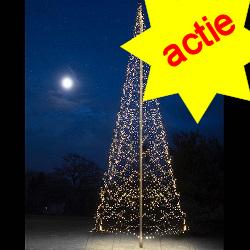 Fairybell 4000 Led  kerstverlichting warmwit voor 10M vlaggenmast